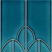 Art Nouveau Jugendstil wandtegels