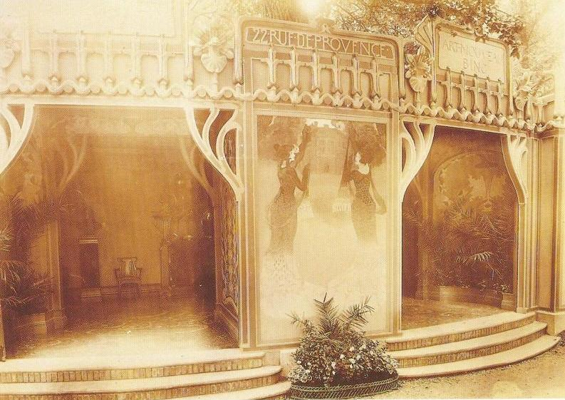 pavilion Art Nouveau Paris exhibition 1900