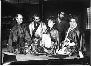 siegfried bing in japanse kimono