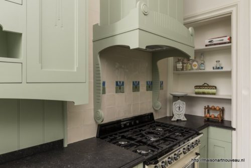 Art nouveau keuken maison l art nouveau
