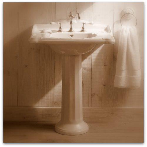Art Nouveau Sanitair Jugendstil wasbak