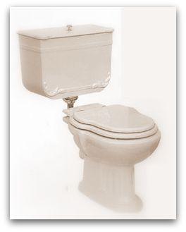 Art Nouveau Sanitair toilet wc