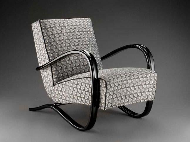 Art_Nouveau_meubelstoffen_designstoel