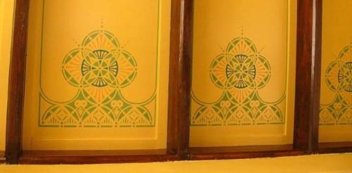 Decoratieschilder plafondplaten Jugendstil