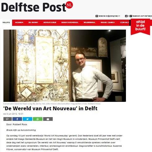 Delfse Post Wereld Art Nouveau Dag