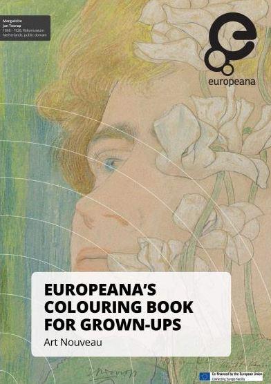 Spellen om kinderen te laten kennismaken met Art Nouveau - kleurboek