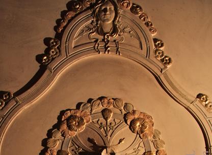 Gips Lijsten en Ornamenten Art Nouveau
