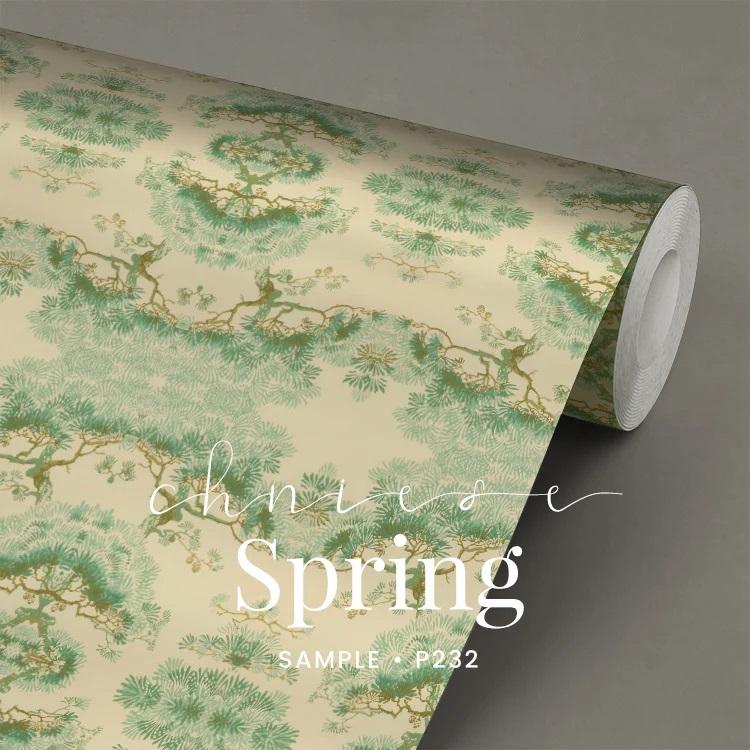 P232 Chinese Spring behang