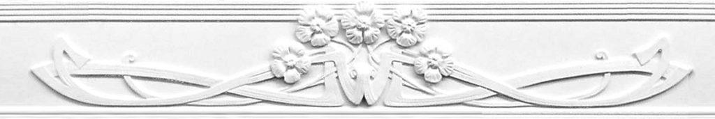 Gips Ornament Perklijst-L420
