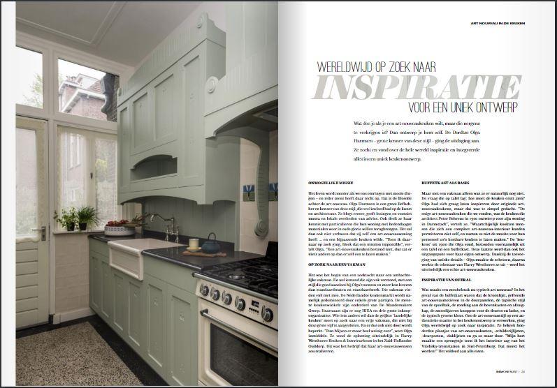 RS Wonen (BE), Art Nouveau Keuken, pg 30 & 31