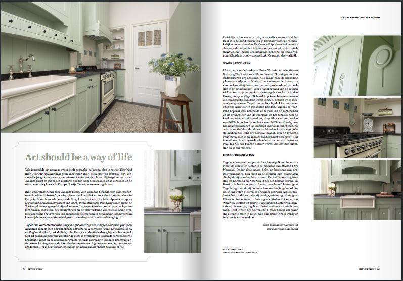 RS Wonen (BE), Art Nouveau Keuken, pg 32 & 33