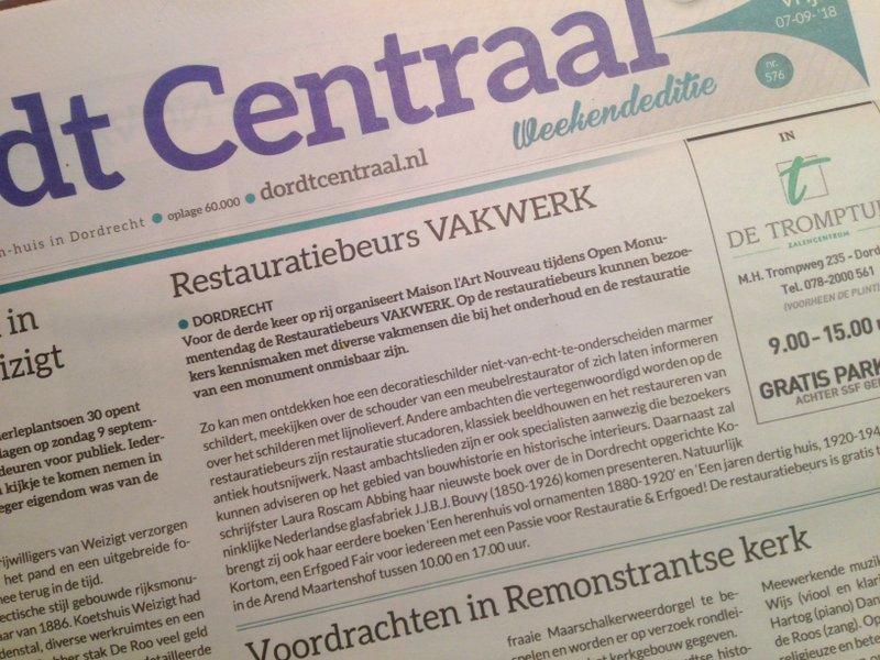 Restauratiebeurs_VAKWERK_20180907_Dordt_Centraal