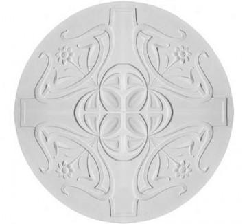 Gips Ornament Rozet-R55