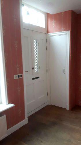Gamla Grand rood art nouveau behang
