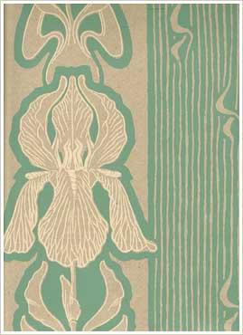 handtrycktatapeter-Iris-1284