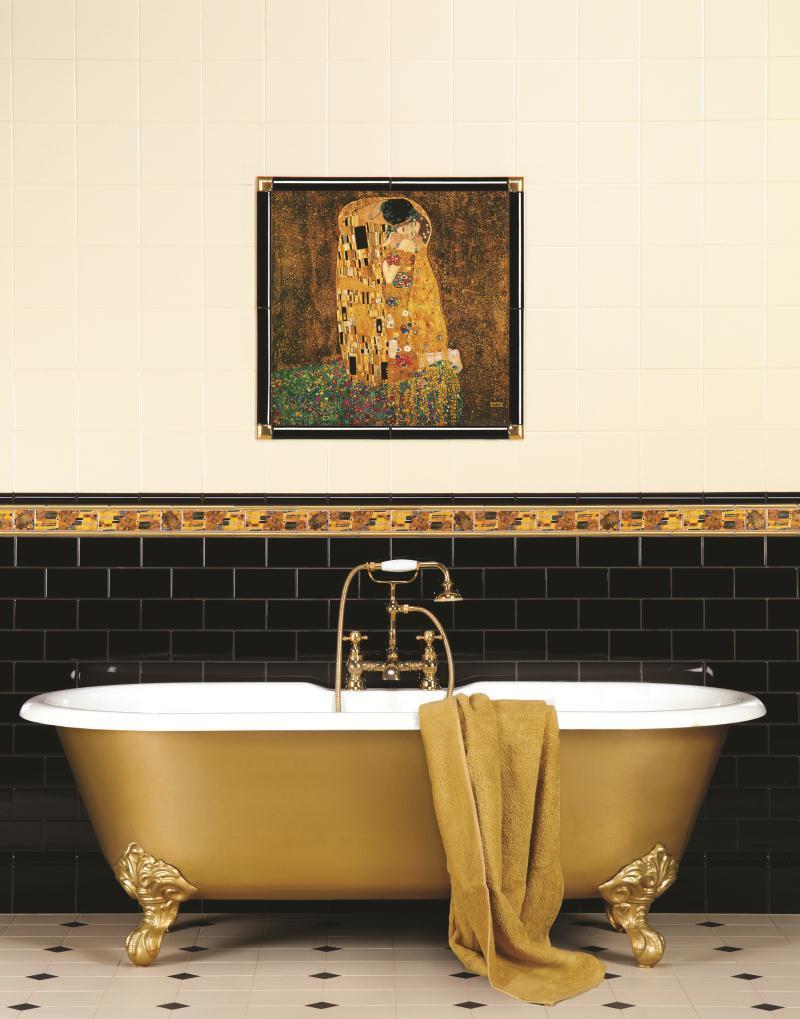 klimt badkamer tegels fliesen badezimmer jugendstil secession tiles