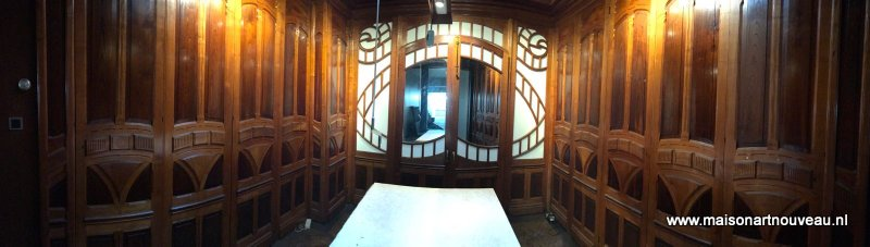 te koop art nouveau interior paneling for sale