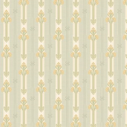 Het mooiste Art Nouveau Behang van de Wereld!