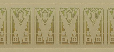 Art Nouveau Behangranden