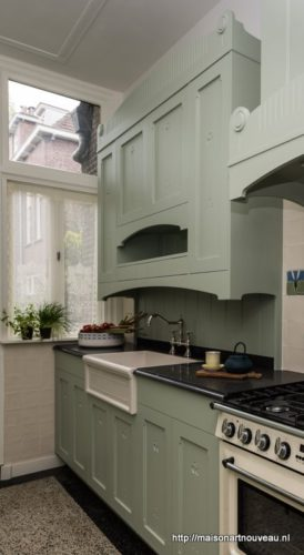 Wonderbaarlijk Art Nouveau Keuken - Maison l'Art Nouveau HF-44