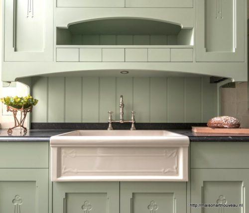 Uitgelezene Art Nouveau Keuken - Maison l'Art Nouveau UO-24