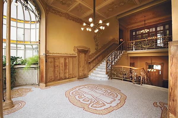 Hotel Max Hallet, Victor Horta