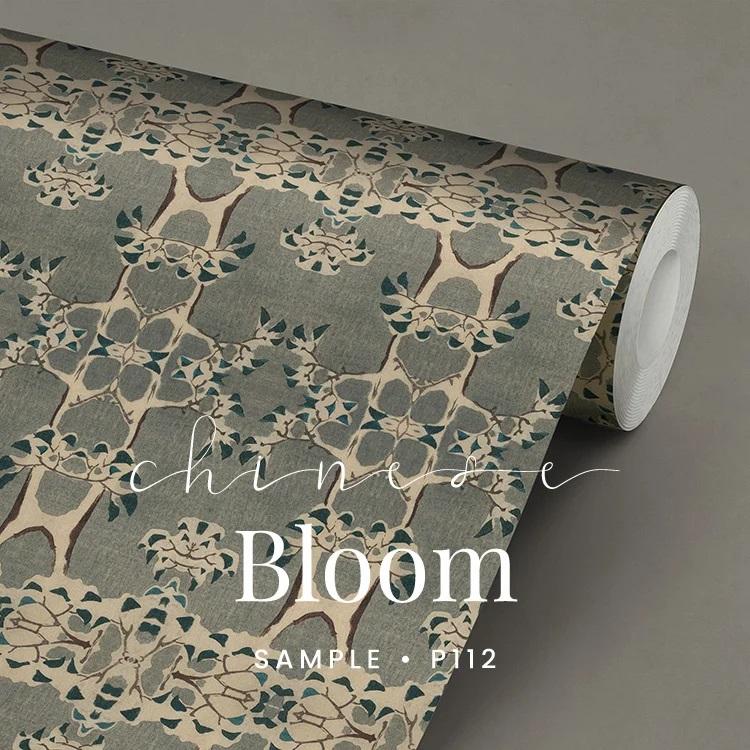 P112 Chinese Bloom behang