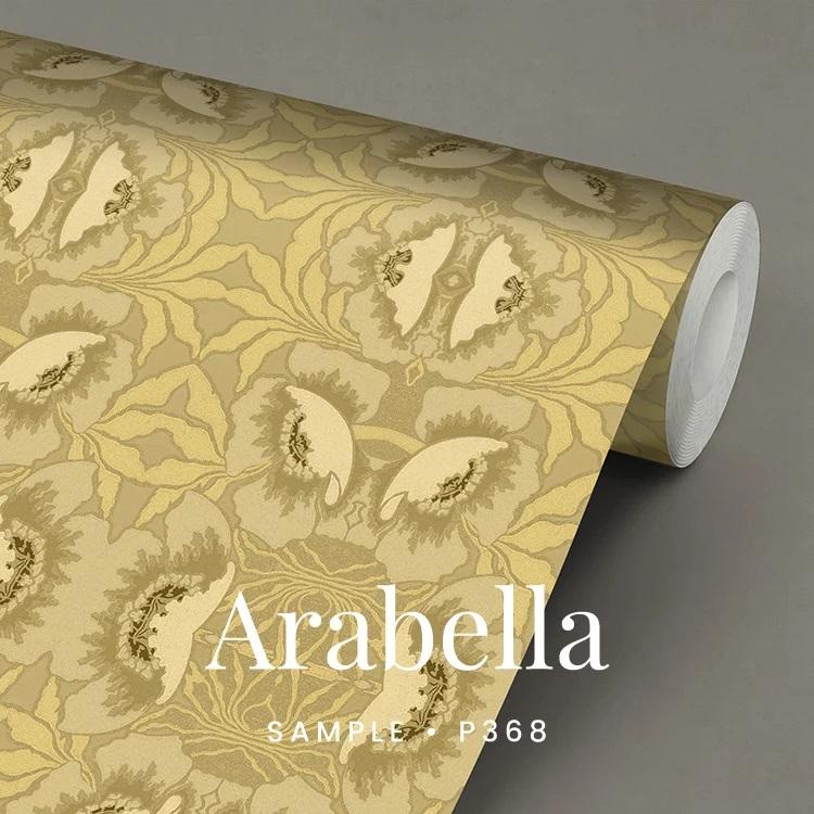 P368 Arabella leatherlook behang