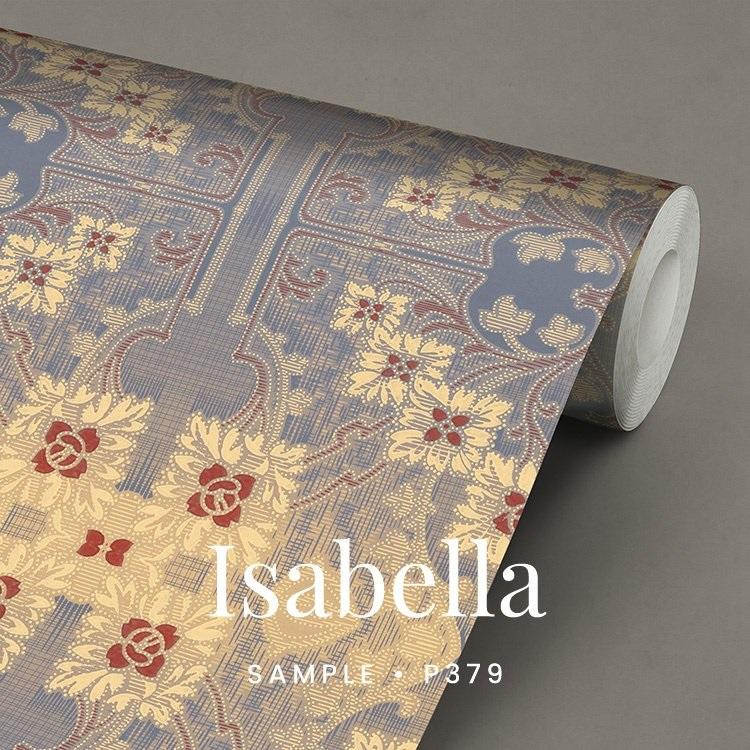 P379 Isabella Art Nouveau behang
