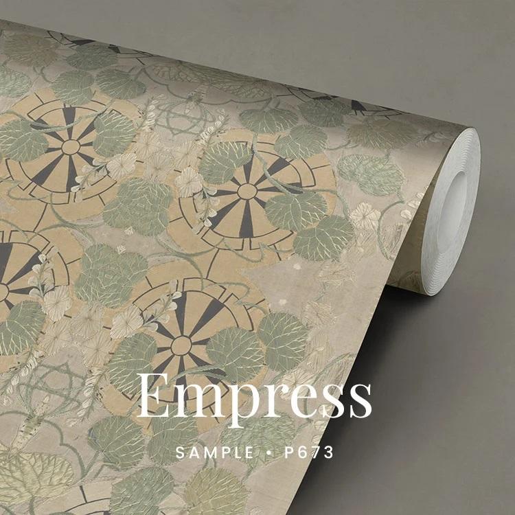 P673 Empress behang Japans