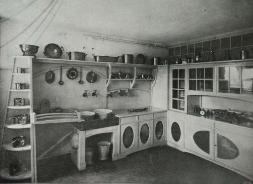 Fonkelnieuw Art Nouveau Keuken - Maison l'Art Nouveau DH-55