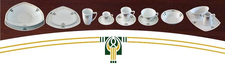 Wonderlijk Servies Chris - Maison l'Art Nouveau CL-04